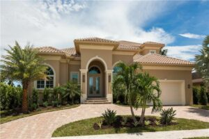 House outside in Florida