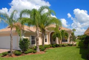 New home in gated community of Florida